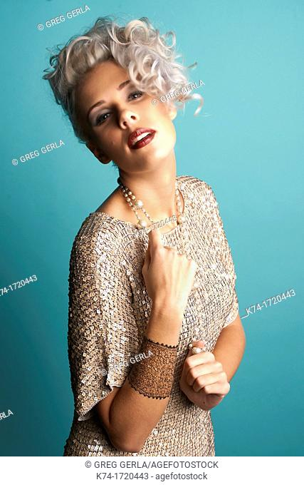 fashion image of girl
