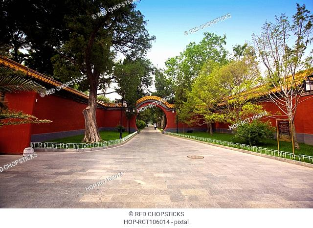 Entrance of the park, Beijing Zhongshan Park, Beijing, China
