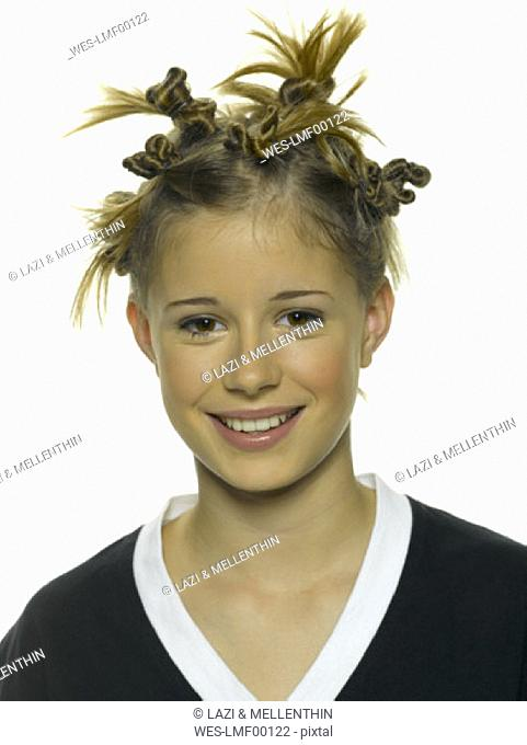 Portrait of a funky girl