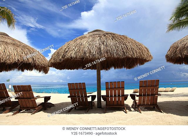 Beach, Chankanaab National Park, Cozumel Island, Isla de Cozumel, Quintana Roo, Mexico, Caribbean
