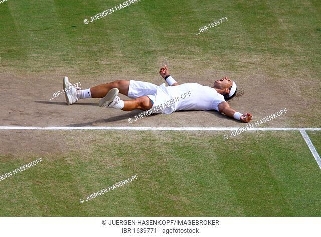 Men's singles final, Rafael Nadal, Spain, 2010 Wimbledon, ITF Grand Slam tournament, Wimbledon, England, United Kingdom, Europe
