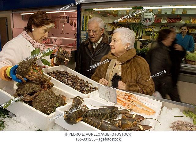 Plaza de Lugo supplies. A sample Pescantina seafood to a marriage