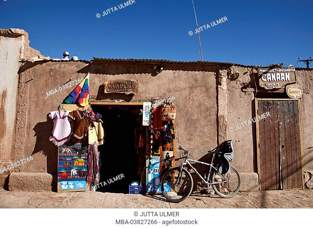 Chile, San Pedro de Atacama, business, bicycle