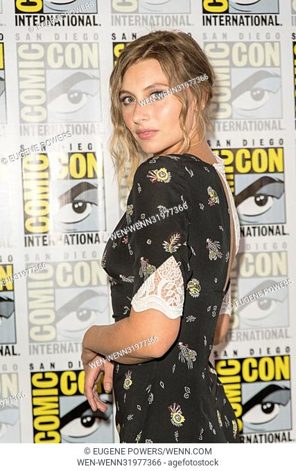 San Diego Comic Con 2017 - 'iZombie' - Photocall Featuring: Aly Michalka Where: San Diego, California, United States When: 21 Jul 2017 Credit: Eugene...