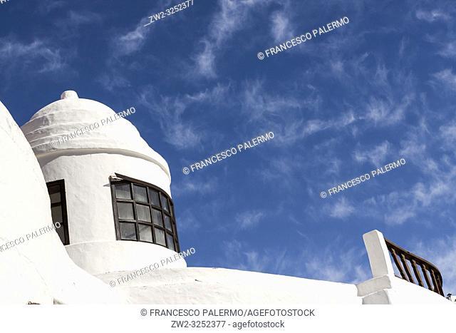 Private property, majestically formed around the same rocks. Nazaret, Lanzarote. Spagna