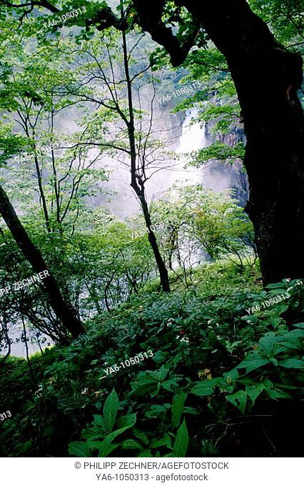 Kegon Waterfall, Chuzenji Lake, Nikko National Park, Tochigi Prefecture, Japan