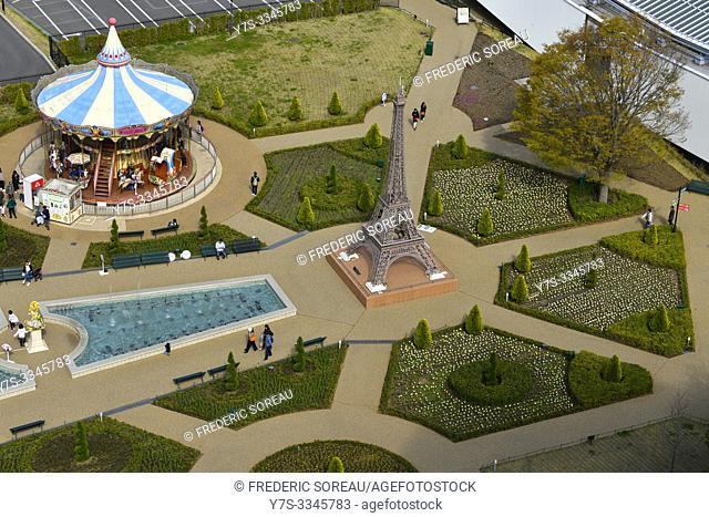 Fuji-Q Highland park, an amusement park in Fujiyoshida, Yamanashi, Japan, Asia