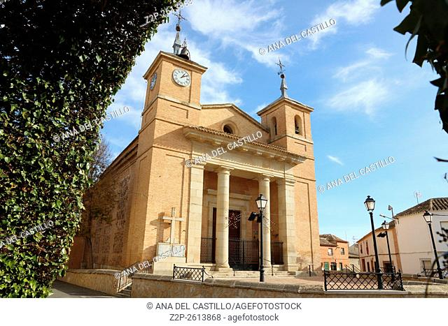 Asuncion church Turleque villlage Toledo La Mancha Spain