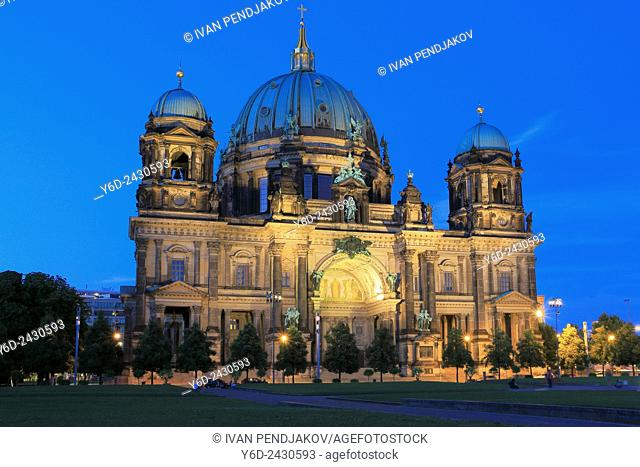 Berlin Cathedral at Dusk, Germany