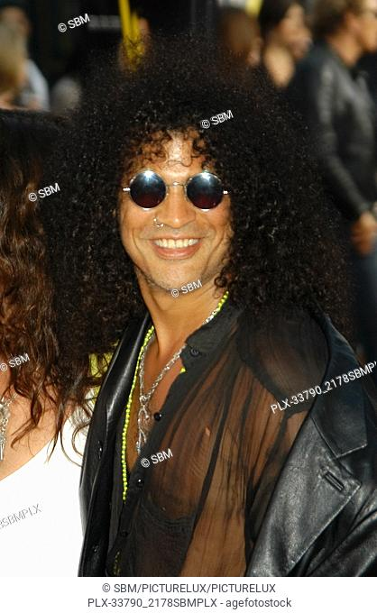 """Slash at the World Premiere of """"""""The Italian Job"""""""", held at Grauman's Chinese Theater in Hollywood, CA. The event took place on Tuesday, May 27, 2003"""