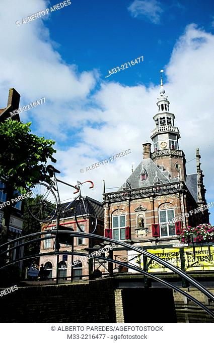 Stadhuis and Oudheidkamer, City Hall, Bolsward, Friesland province (Fryslan), Netherlands
