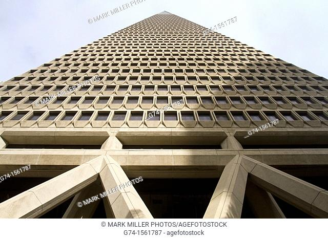 Trans America Building,Architecture, buildings, downtown, San Francisco, California, USA