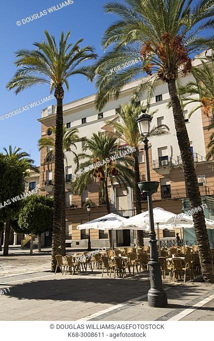 Plaza del Arenal in Jerez de la Frontera, Cadiz province, Andalucia, Spain