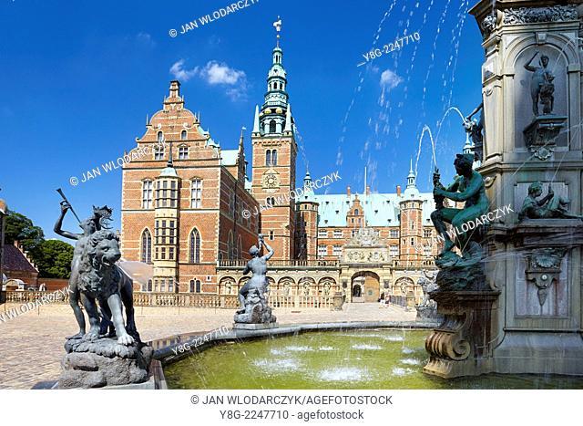 Frederiksborg Castle, Hillerad, Denmark