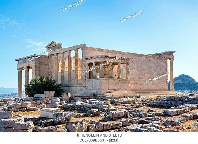 Erechtheion Acropolis, Athens, Attiki, Greece, Europe