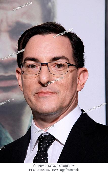 Eric Heisserer 11/06/2016 The Los Angeles Premiere of Arrival held at the Regency Theater in Los Angeles, CA Photo by Julian Blythe / HNW / PictureLux