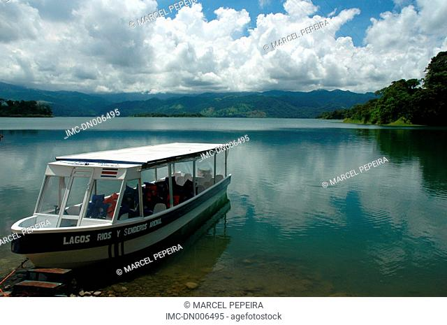 Costa Rica, natural park of the Arenal volcano
