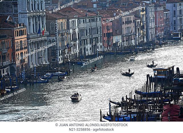 The Grand Canal. Venice, Veneto, Italy