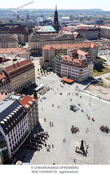 View of a part of Dresden city center