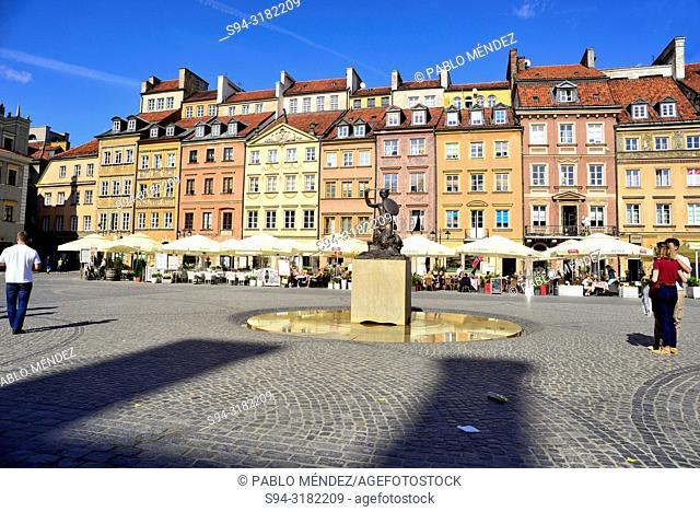Starego Miasta square (Rynek), Warsaw, Poland