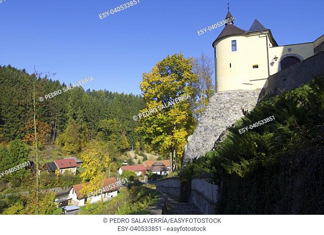 Cesky Sternberk castle in Czech republic