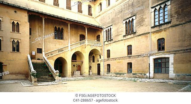 Ducal Palace (it belonged to Borgia family) built 14th century. Gandía. Valencia province, Spain