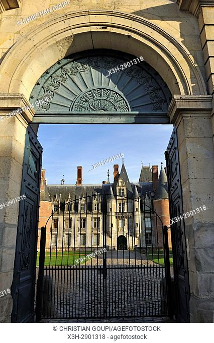 Chateau de Maintenon, Eure-et-Loir department, Centre-Val de Loire region, France, Europe
