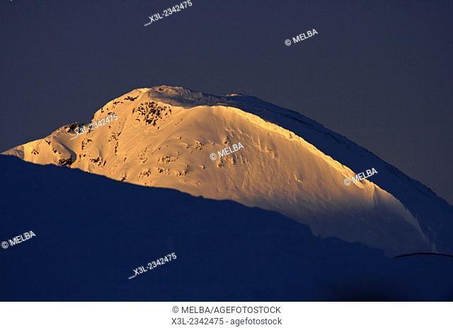 Mountain of Kulusuk. Greenland