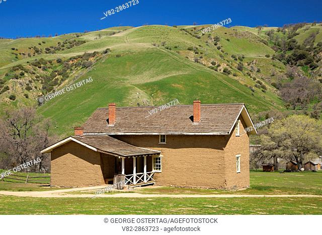 Officers' Quarters, Fort Tejon State Historic Park, California
