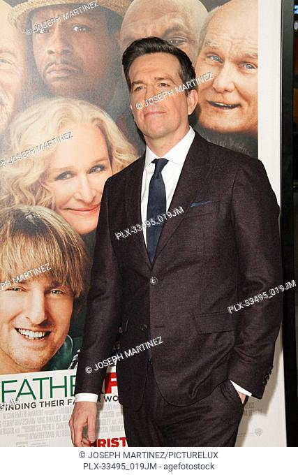 """Ed Helms at the Premiere of Warner Bros' """"""""Father Figures"""""""" held at the TCL Chinese Theater in Hollywood, CA, December 13, 2017"""