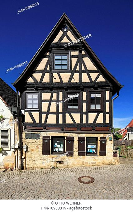Tobias Mayer birthplace in Marbach, Baden-Wurttemberg
