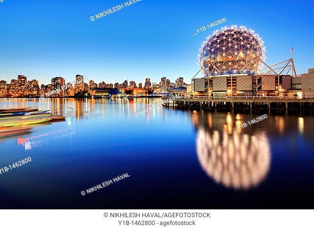 Science world, Vancouver, British Columbia, BC