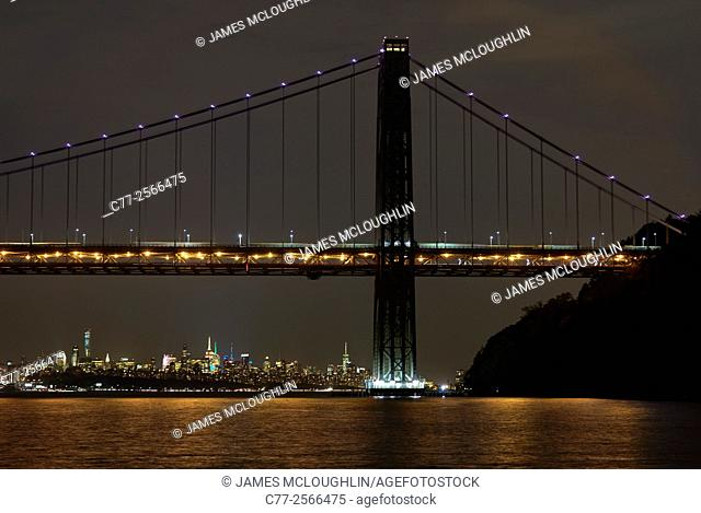 New York City, Manhattan, Bridge, George Washington Bridge