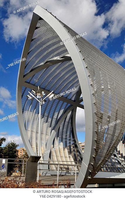 Perrault Bridge, Madrid