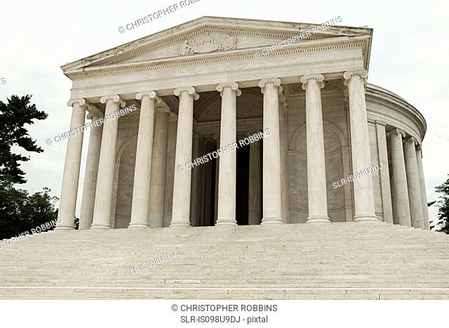 Jefferson memorial, Washington DC, USA