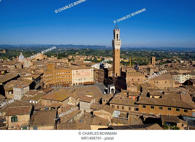 Palazzo Pubblico, Siena, UNESCO World Heritage Site, Tuscany, Italy, Europe