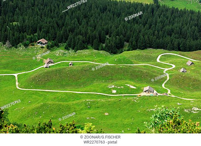 Rundkurs, Wanderwege im Alpstein