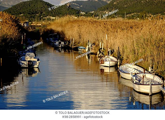 Torrente des Salouet, puerto de Andratx, Mallorca, balearic islands, spain, europe