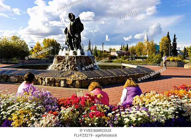 Artist's Choice: Golden Heart Park in downtown Fairbanks, Alaska