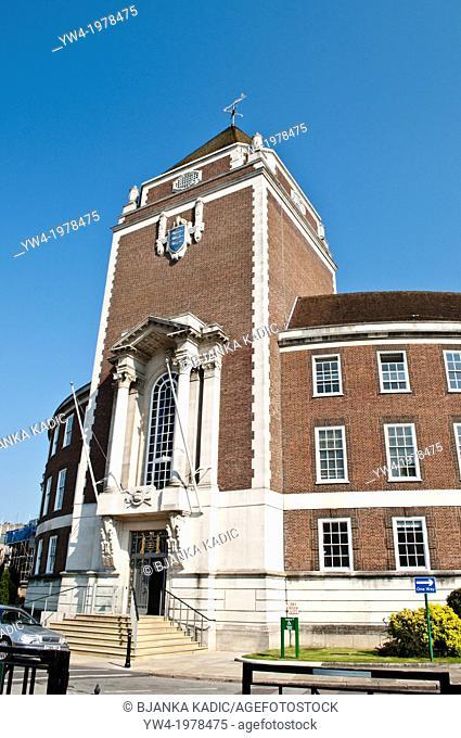 Guildhall, Kingston upon Thames Town Hall, Surrey, UK