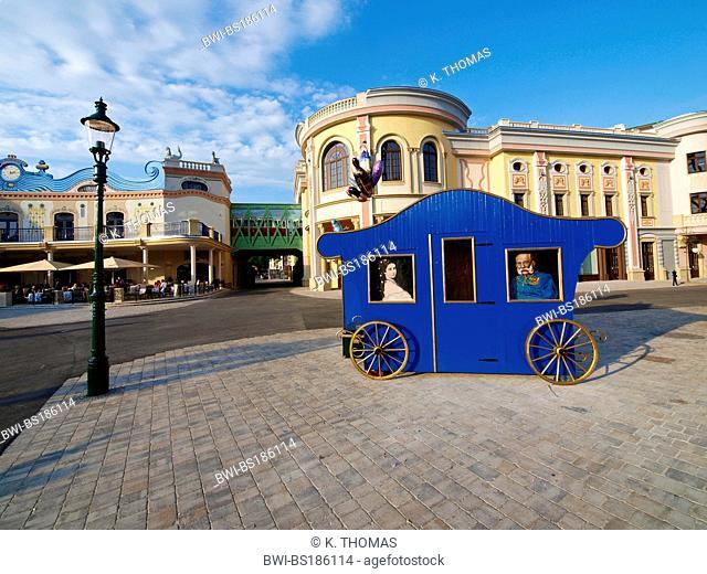 amusement park at the Prater, Austria, Vienna