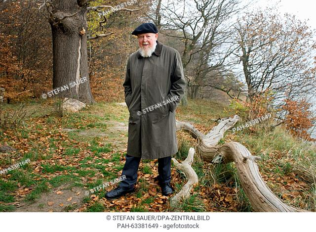 Michael Succow (74), father of the east German national parks and laureate of the alternative Nobel Prize, outside a branch office of the Federal Agency for...