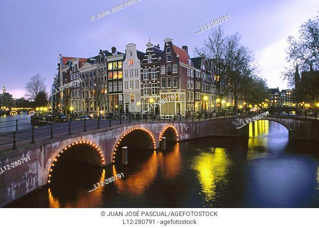 Keizersgracht. Amsterdam. Holland