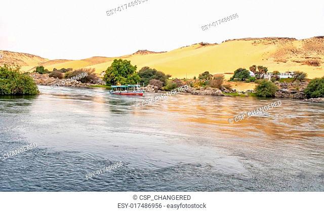River Nile in Egypt