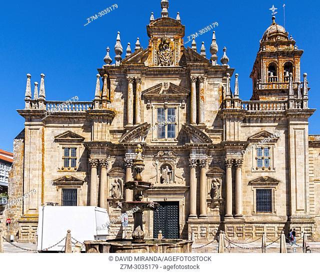 Monasterio de San Salvador. Celanova. Ourense. Galicia. Spain