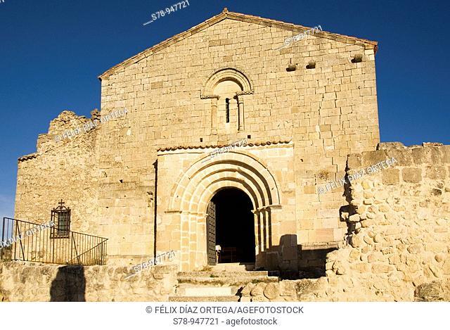 Hermit of Saint Fructus, Hoces del Rio Duraton Natural Park, Sepulveda, Segovia province, Castilla-Leon, Spain