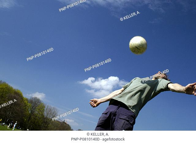 Ball abfangen