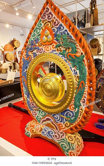 Japan, Honshu, Tokyo, Asakusa, Miyamoto Unosuke Shoten Company Drum Museum