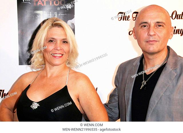 'The Tattoo Age – Out of Control' documentary film release at the Vaucluse Lodge Featuring: Calista Carradine,Tamas Birinyi Where: West Hollywood, California