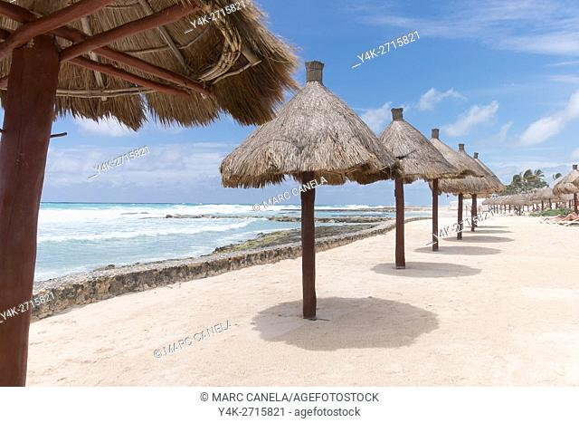 Mexico, Quintana Roo, Yucatan Peninsula, Port of Costa Maya, Akumal beach